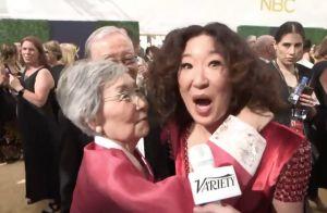 Emmy 2018 : L'adorable maman de Sandra Oh lui vole la vedette