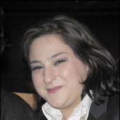 Marilou Berry, une spectatrice de choix... à la folle première de Millenium à Paris !
