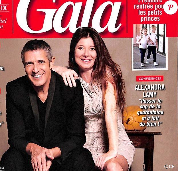 Julien Clerc et Hélène Grémillon - Gala, en kiosques ce 19 septembre 2018.