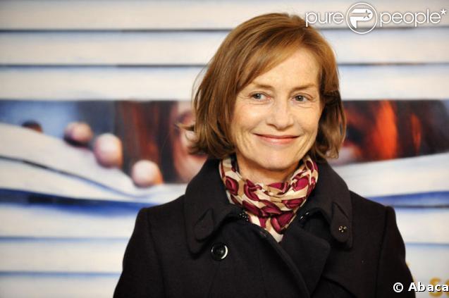 Isabelle Huppert, présidente du 62e Festival de Cannes