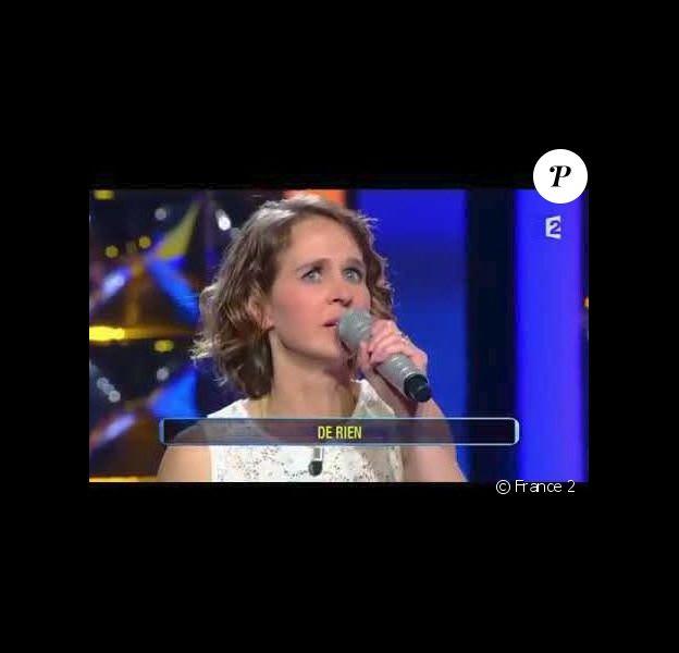 """Violaine dans """"N'oubliez pas les paroles"""" - France 2, 2016"""