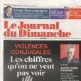 Le Journal du dimanche, 23 septembre 2018.