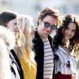 "Mia Goth, Agata Buzek, Robert Pattinson, Juliette Binoche - Photocall du film ""High Life"" lors du 66ème Festival International du Film de San Sebastian. Le 27 septembre 2018"