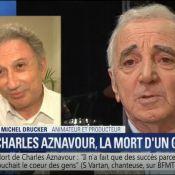 Charles Aznavour : Michel Drucker, ému, évoque leur dernière conversation
