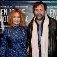 """Clémentine Célarié, Serge Riaboukine - Avant-première du film """"En Mille Morceaux"""" à Paris le 1er octobre 2018."""