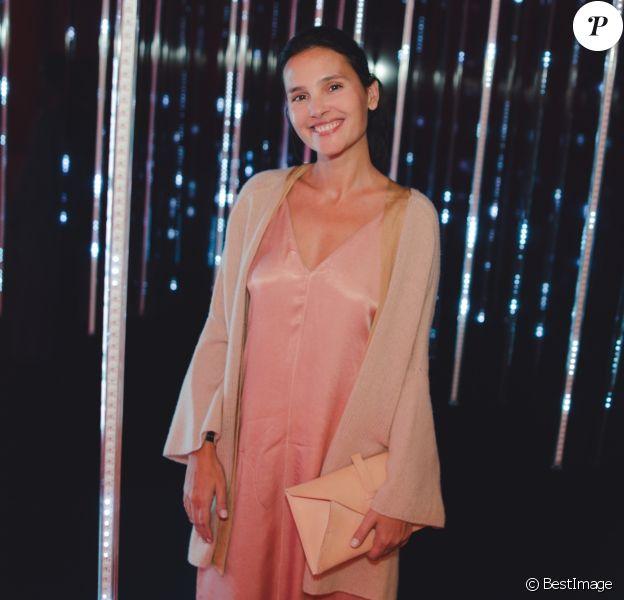 Exclusif - Virginie Ledoyen - Soirée Shiseido pour le lancement de leur nouvelle ligne de maquillage à Paris le 28 septembre 2018. © Cyril Moreau/Bestimag