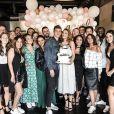Rachel Legrain-Trapani a fêté ses 30 ans avec son chéri Benjamin Pavard et ses amis dans le Nord. Septembre 2018