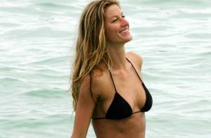 Gisele Bündchen est la plus belle femme du monde... et elle le prouve ! Le bonheur, c'est tout !