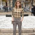 Kate Mara assiste au défilé de mode Miu Miu (collection prêt-à-porter printemps-été 2019) au Palais d'Iéna. Paris, le 2 octobre 2018 © CVS / Veeren / Bestimage