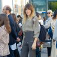 Lou Doillon assiste au défilé Chloé (collection prêt-à-porter printemps-été 2019) à la Maison de la Radio. Paris, le 27 septembre 2018. © CVS / Veeren / Bestimage