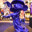 Exclusif - Premier anniversaire de Mickey : L'Apprenti Sorcier par Richard Orlinski, au Disney Store, à Paris, le 4 octobre 2018. © Rachid Bellak/Bestimage