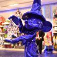 Exclusif - Premier anniversaire de la collaboration entre le sculpteur Richard Orlinski et Disneyland Paris, au Disney Store, à Paris, le 4 octobre 2018. © Rachid Bellak/Bestimage