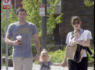 Ben Affleck et Jennifer Garner en promenade familiale : il faut toujours que Violet fasse... sa maligne !