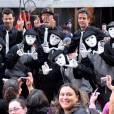 Les New Kids on the Block, reformés, étaient chantaient hier sur le plateau du Today Show de NBC à New York !