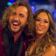 "Sean Walsh et sa danseuse Katya Jones dans ""Strictly Come Dancing"" au Royaume-Uni."