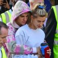 Justin Bieber et Hailey Baldwin à la grande roue London Eye à Londres, Royaume uni, le 19 septembre 2018.