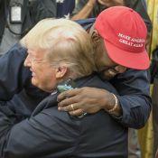 """Kanye West : """"J'adore"""" Donald Trump, ses proches le jugent """"insensé"""""""