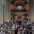 Ambiance - Cérémonie de mariage de la princesse Eugenie d'York et Jack Brooksbank en la chapelle Saint-George au château de Windsor, Royaume Uni le 12 octobre 2018.