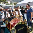 Exclusif - Philippe Lellouche est le parrain de la 5ème édition du Saint-Jean-Cap-Ferrat Prestige, concours et exposition de voitures et motos de collection, le 23 septembre 2018. © Bruno Bebert/LMS/Bestimage