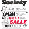 """Couverture du magazine """"Society"""", numéro du 18 octobre 2018."""
