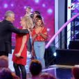 """Défaite de Sarah dans l'émission """"Noubliez pas les paroles"""" sur France 2. Le 18 octobre 2018."""