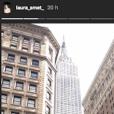 Laura Smet à New York dans le cadre du Chelsea Film Festival, le week-end du 20 et 21 octobre 2018.