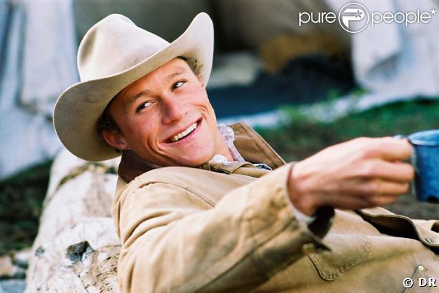 Heath Ledger, la star de Brokeback Mountain