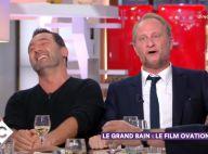 """Benoît Poelvoorde chute en direct : """"C'est bien fait pour ta gueule"""""""