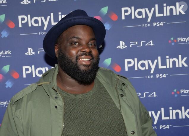 Issa Doumbia - Soirée de lancement de PlayLink de PlayStation au Play Link House à Paris, France, le 12 octobre 2017. © Veeren/Bestimage