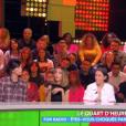 """Les chroniqueurs sur le plateau de """"Touche pas à mon poste"""" le 25 octobre 2018 sur C8."""