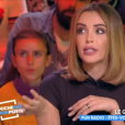 """Nabilla sur le plateau de """"Touche pas à mon poste"""" le 25 octobre 2018 sur C8."""