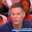 """Matthieu Delormeau sur le plateau de """"Touche pas à mon poste"""" le 25 octobre 2018 sur C8."""