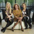 Claudia Schiffer, Caroline Gruosi-Scheufele et Vahina Giocante