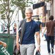 Tim Cook se promène à New York, le 19 septembre 2018