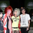 "Cindy Crawford, son mari Rande Gerber et leurs enfants Kaia et Presley Gerber - Soirée ""Casamigos Halloween Party"" à Beverly Hills, le 26 octobre 2018"