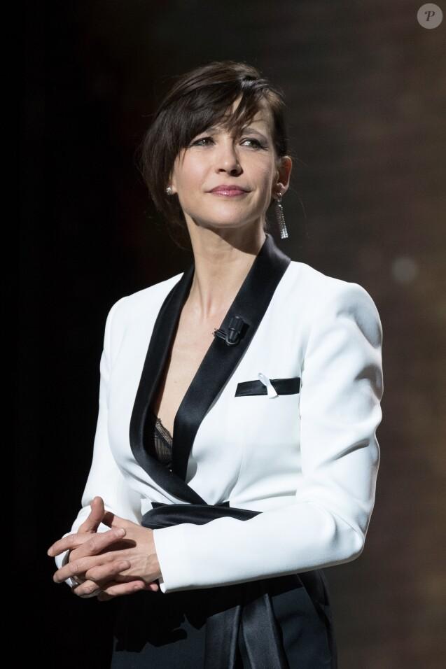Sophie Marceau - 43e cérémonie des Cesar à la salle Pleyel à Paris, le 2 mars 2018. © Dominique Jacovides - Olivier Borde / Bestimage