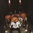 Jade Hallyday fête Halloween à Saint-Barth', le 31 octobre 2018