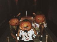 Jade Hallyday : La fille de Johnny fête Halloween entre copains à Saint-Barth'
