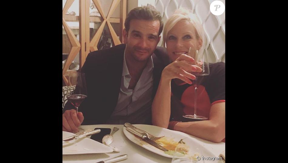 Rebecca Hampton et son petit ami François-Xavier, le 18 juin 2018.