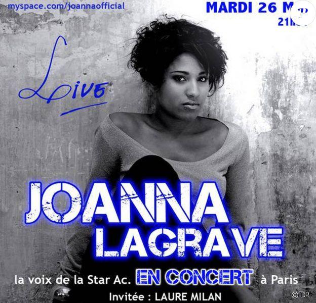 Joanna en concert au Réservoir le 26 mai