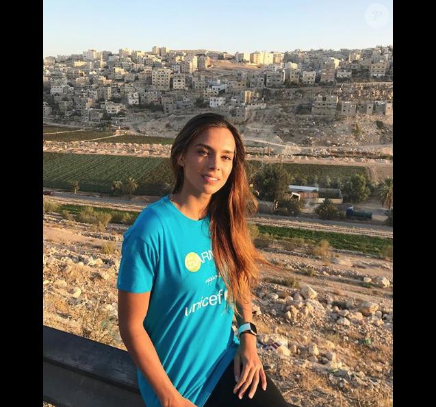 Marine Lorphelin en Jordanie debut novembre 2018 avant son internat en médecine générale.