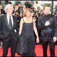 Jean Rochefort, Christine Albanel et Samuel Le Bihan lors de l'ouverture de la cérémonie d'ouverture du 62e Festival de Cannes le 13 mai 2009