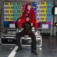 """Lou Lesage et Arthur Jacquin - Soirée de lancement de la collection """"H&M x Moschino"""" au """"Dernier Etage"""" à Paris, le 6 novembre 2018. © Pierre Perusseau / Bestimage"""