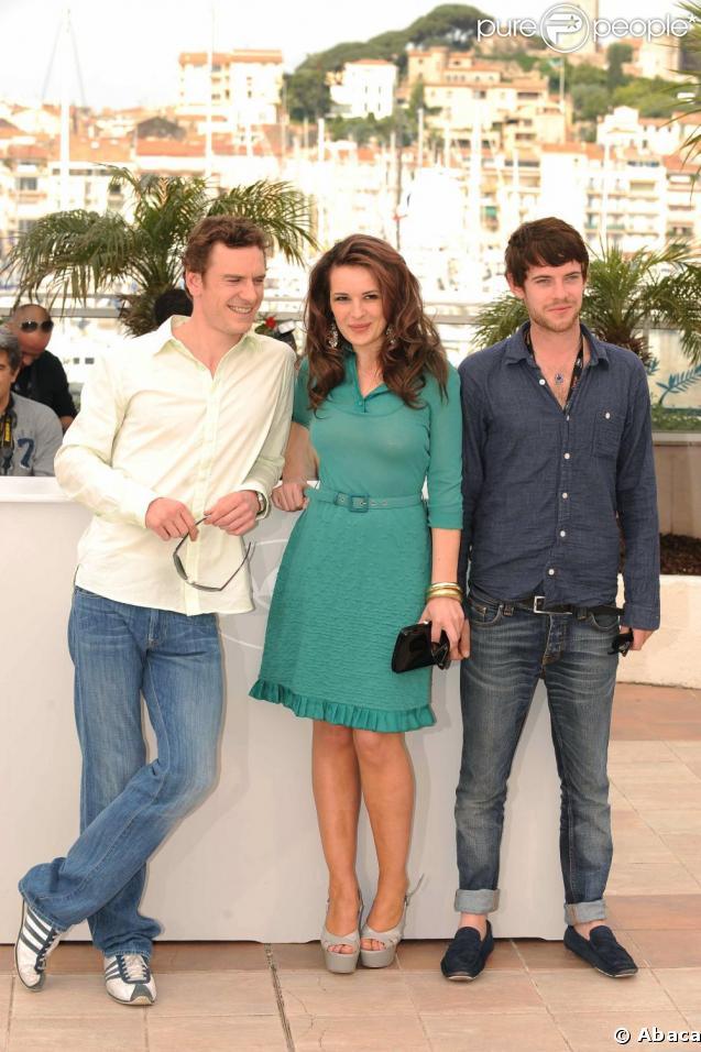 """Michael Fassbender, Kierston Wareing et Harry Treadaway, venus présenter """"Fish Tank"""", le 14 mai 2009, à Cannes !"""