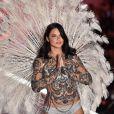 Adriana Lima participe à son dernier défilé Victoria's Secret lors du Victoria's Secret Fashion Show 2018. New York le 8 novembre 2018