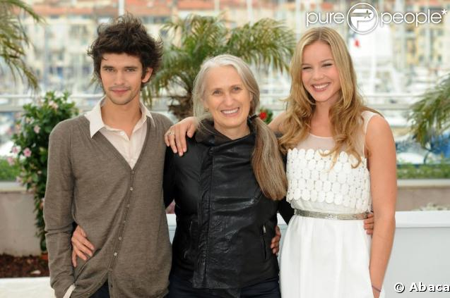 "Ben Wishaw, Jane Campion et Abbie Cornish présentent ""Bright Star"", le 15 mai 2009, au 62e Festival de Cannes !"