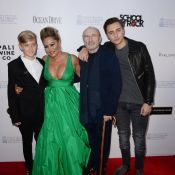 Phil Collins : Affaibli et soutenu par sa femme, auprès de ses charmants fils