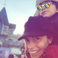 Alessandra Sublet à Disneyland Paris, le 17 novembre 2018.