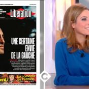 Léa Salamé, gênée dans C à vous, évoque son compagnon Raphaël Glucksmann