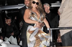 Mariah Carey, sublime en Cavalli, fait la fête à Cannes avec son mari !